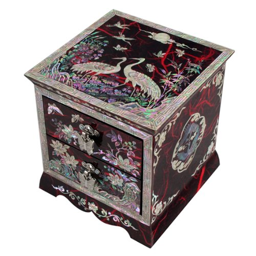 $260.00; Mother of Pearl Asian Lacquer Women Wooden Jewelry Trinket Keepsake Treasure Gift Girls Jewel Ring Drawer  sc 1 st  Martial Arts History Museum & Asian Culture: Jewelry Boxes Archives - Martial Arts History Museum Aboutintivar.Com